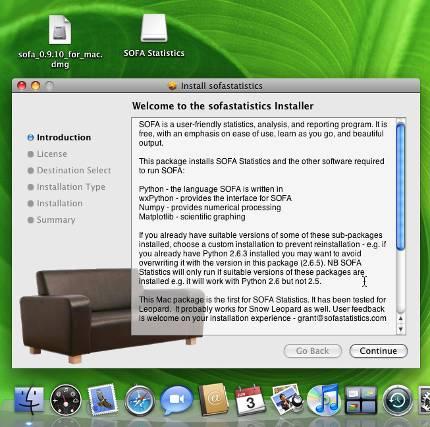 SOFA mac installer