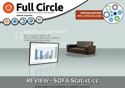 SOFA Statistics in Full Circle Magazine